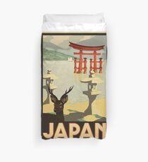 VINTAGE POSTER JAPAN Duvet Cover