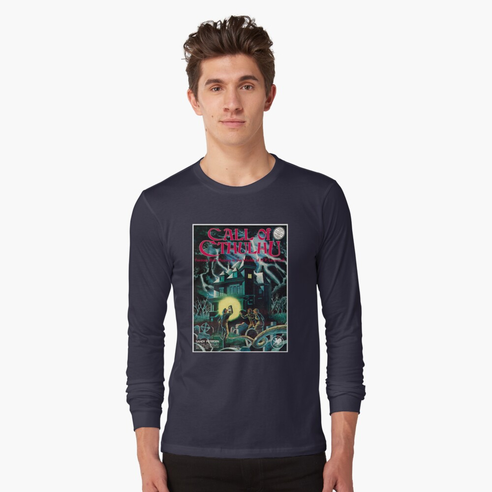 Call of Cthulhu 1. Ausgabe Cover Langarmshirt