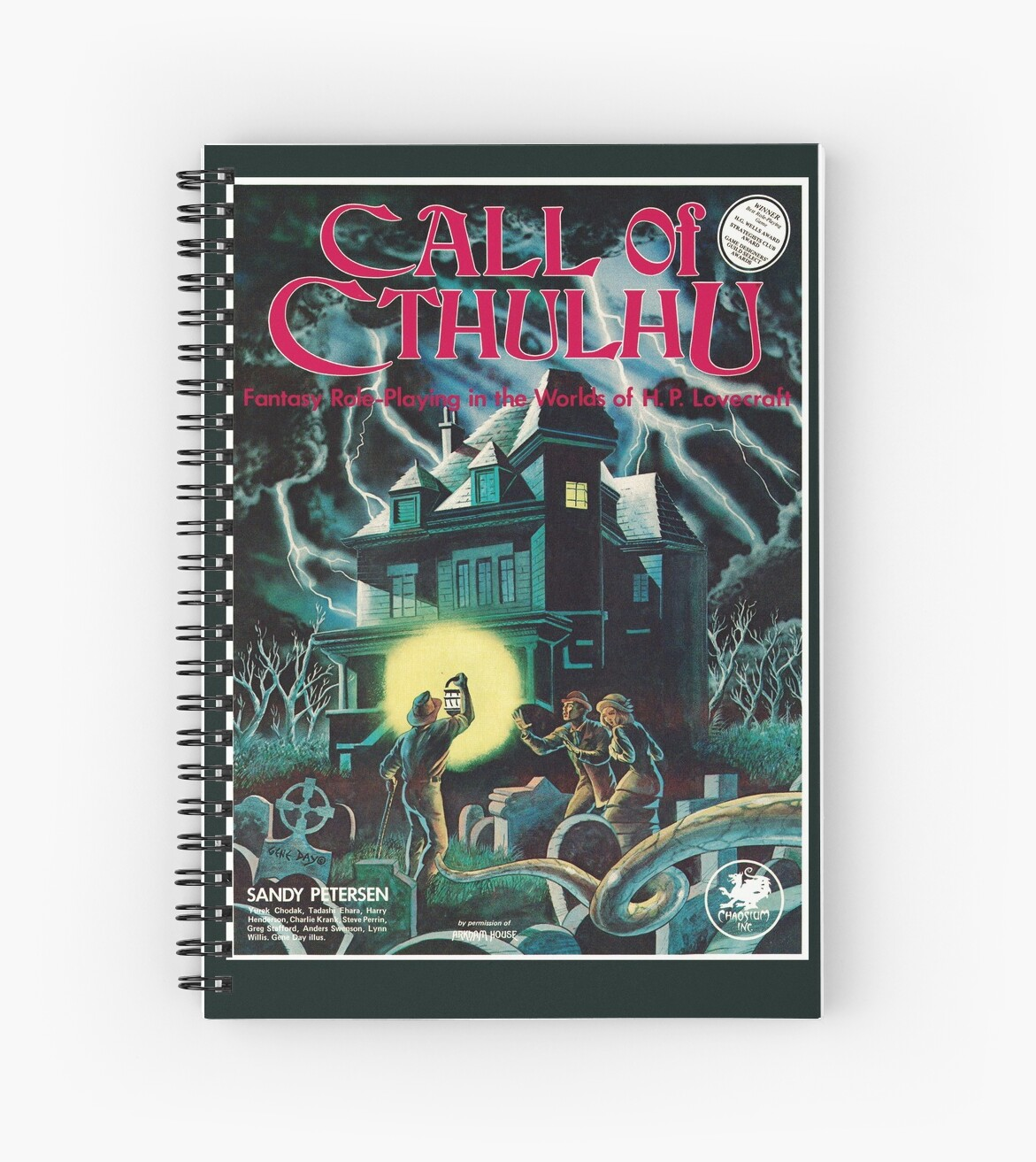 Call of Cthulhu 1st Edition Cover by Chaosium