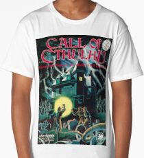 Call of Cthulhu 1st Edition Cover Long T-Shirt