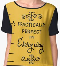 practically perfect Chiffon Top