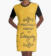 practically perfect Graphic T-Shirt Dress
