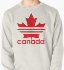 Canada Sport Maple Leaf Pullover Sweatshirt