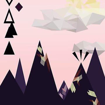 Geometric Mountains by dmlib