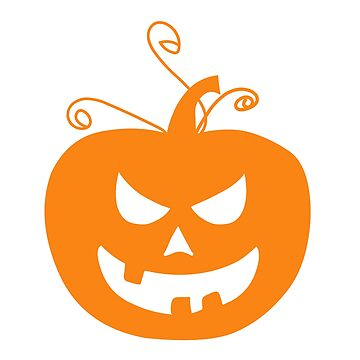 Scary Halloween Pumpkin by Sandyram