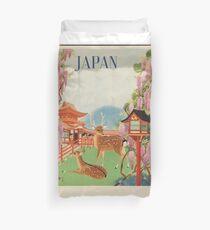 VINTAGE POSTER JAPAN 3 Duvet Cover