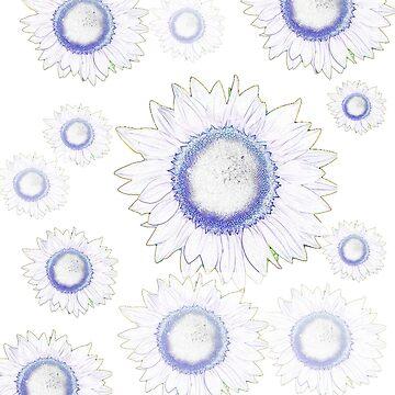 Sun Flower First Simple Design by mcdonnellg