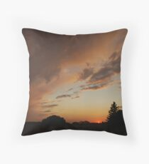 September Ends Throw Pillow