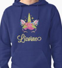 Licorne French Unicorn Pullover Hoodie