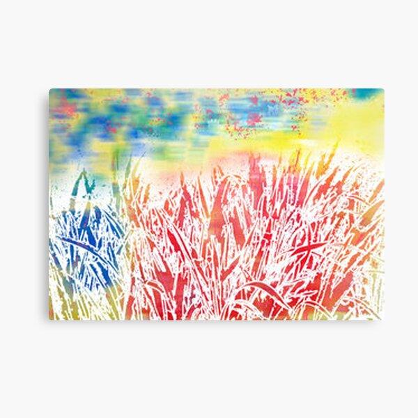 impression of summer Canvas Print
