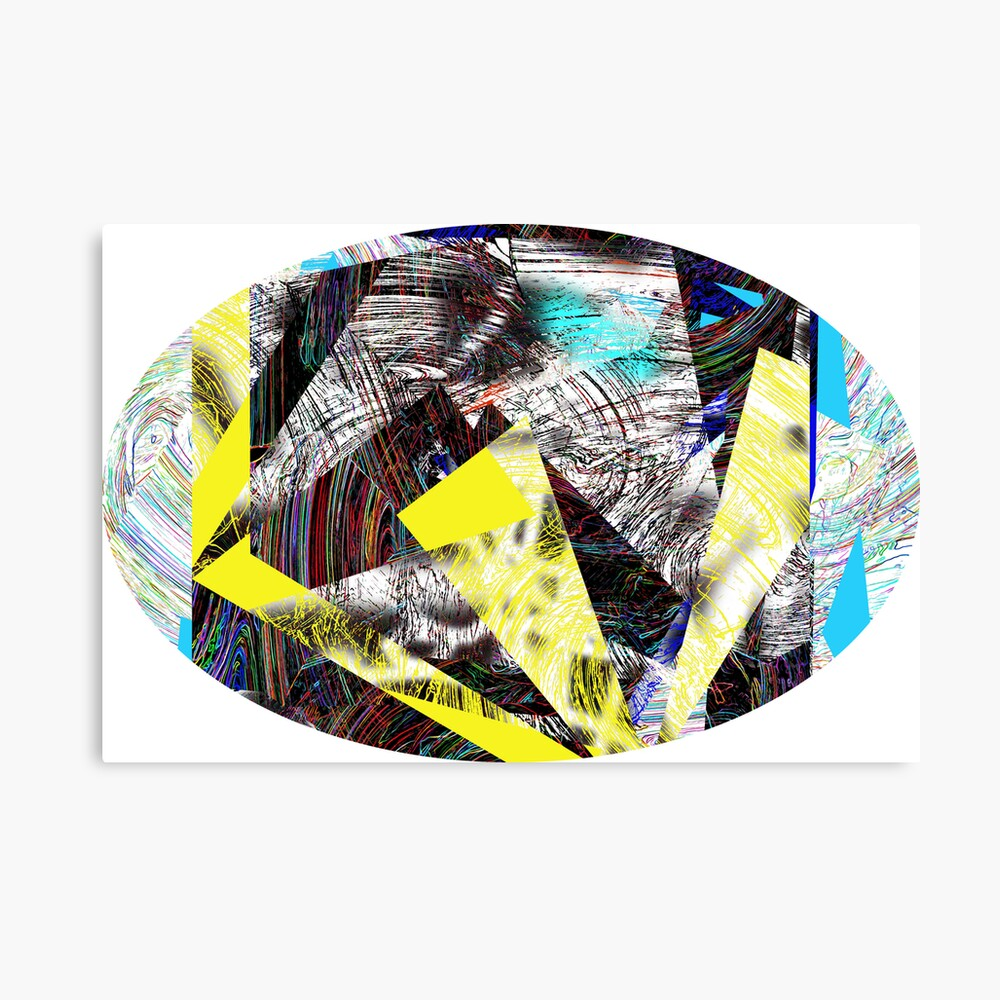 cyber collage Canvas Print