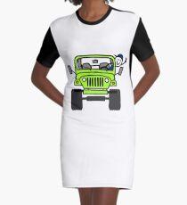Jeep Wave (Lime) Grün - Junge T-Shirt Kleid