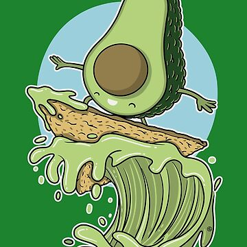 AVOCADO SURFER by nando-ss