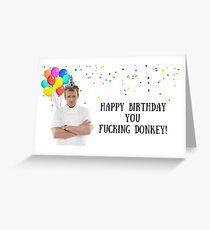 Gordon Ramsay birthday card, meme greeting cards Greeting Card