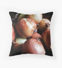 Dedicate to Mr. Onion Throw Pillow