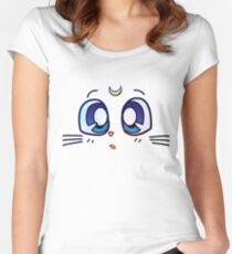 Artemis facial expression Women's Fitted Scoop T-Shirt