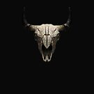 Buffalo Skull by grafoxdesigns