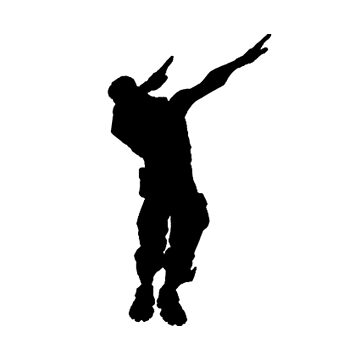 Fornite Emote DAB Pogba gaming gamer geek HD victory royale  by MindRich1