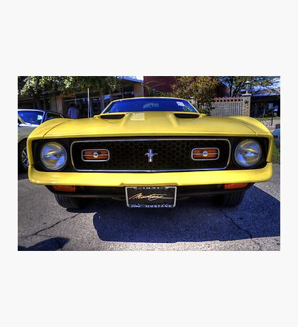 '71 Mach 1 Photographic Print