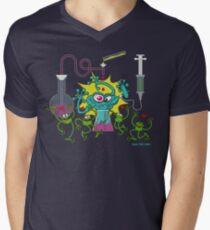 Mutant Toad Men's V-Neck T-Shirt