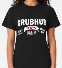Grubhub Tips Appreciated Classic T-Shirt