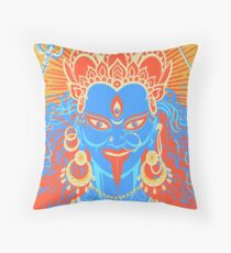 Kali Primary Throw Pillow