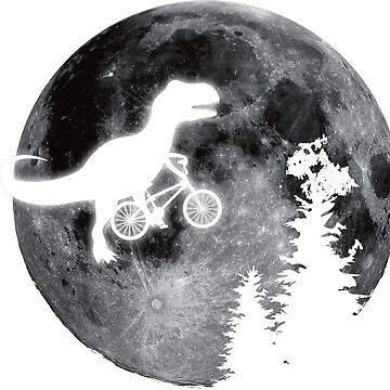 T-Rex E.T. Moon Bike by metaminas