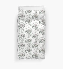 Curve Your Angst Duvet Cover