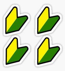 JDM Wakauna (x 4) Sticker