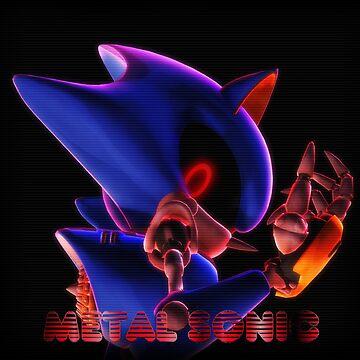 Metal Sonic HD Print by MaatouSly