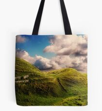 Landscape By Mankind Tote Bag