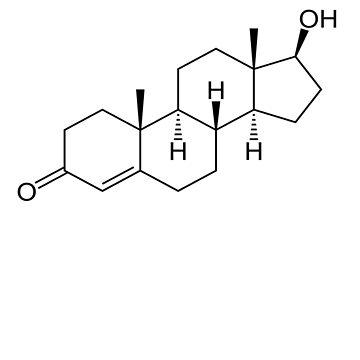 Testosterone Molecule  by SamsonBryant