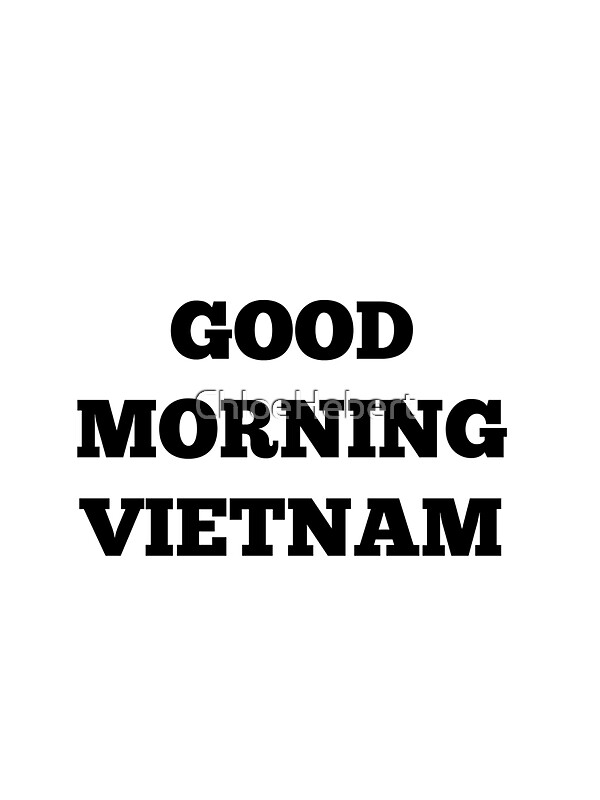 Good Morning Vietnam Kanye : Quot good morning vietnam stickers by chloe hebert redbubble