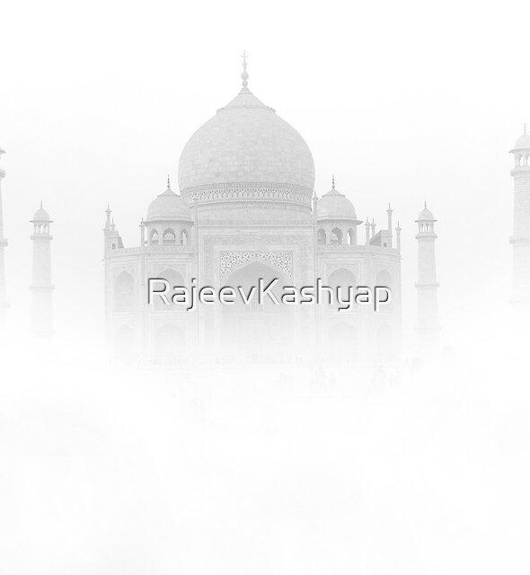 White Beauty (TAJ MAHAL) by RajeevKashyap