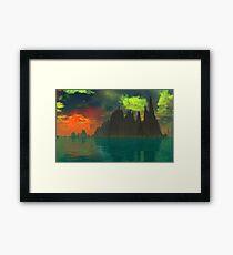 The Rising - Pele's Heaven Framed Print