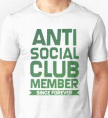 Anti Social Club Member Since Forever Bestseller Unisex T-Shirt