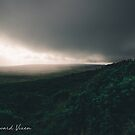 Storm Rolling In Over Mountains Hawaii  by TheWaywardVixen