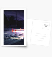 water on road Postcards