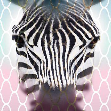 Zebra face  by jofices