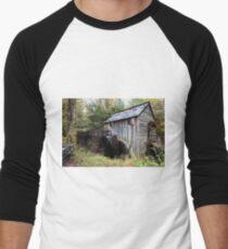 Grist Mill  Men's Baseball ¾ T-Shirt