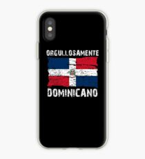 Orgullosamente Dominicano funny Shirt Tank Graphic T-shirt Phone Case Laptop Decal Mug Tablet Case and Bag iPhone Case