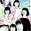 GBBO Pudding Week: Faces Of Briony by lauriepink