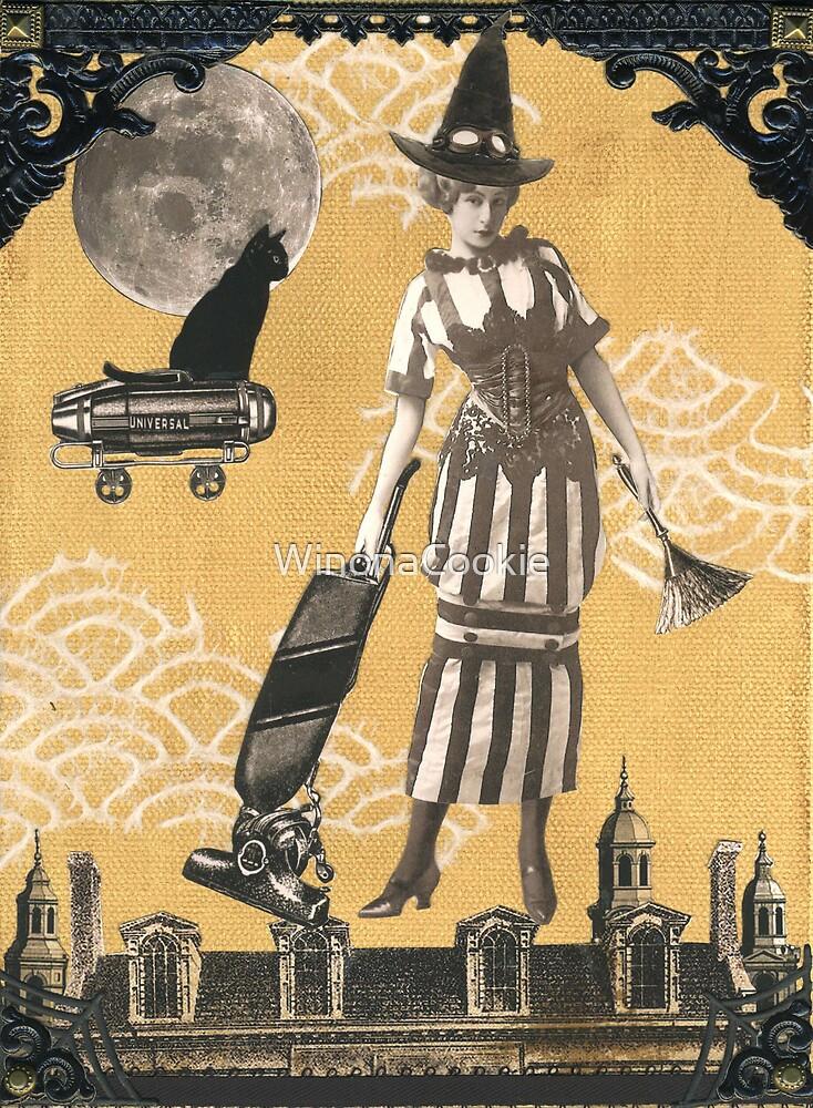 Steampunk Witch by WinonaCookie
