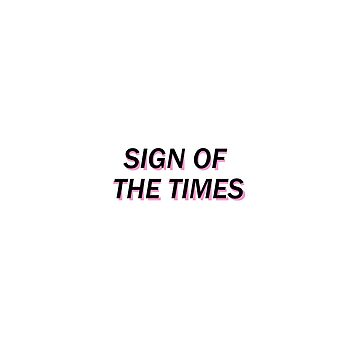 Harry Styles -  Sign Of The Times by LuanaGonzaga