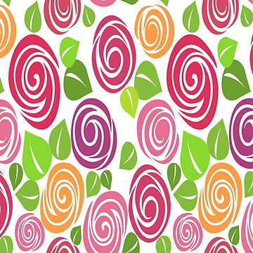 Roses Colors Patterns by iwaygifts