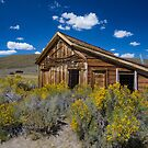 Bodie California Jail Late Summer by photosbyflood