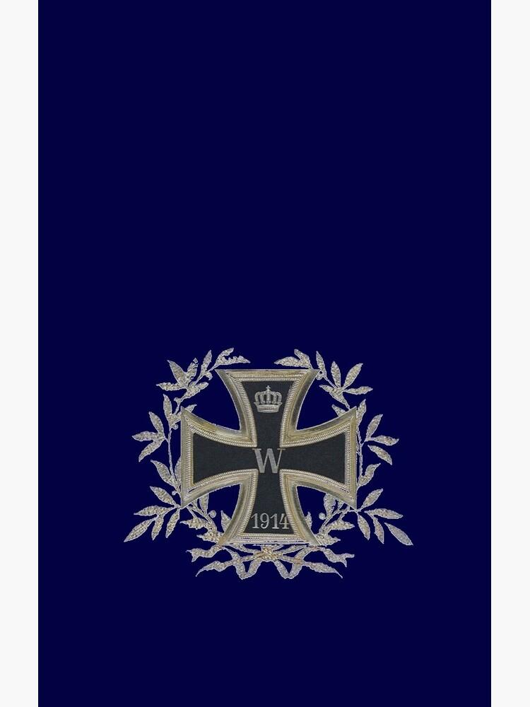 Deutsches Reich Iron Cross 1914 in wreath by edsimoneit