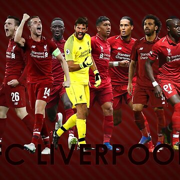 Liverpool Allstar poster by NIKOisCREATING