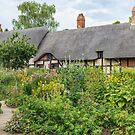 Anne Hathaway's cottage by Sylvia Labelle