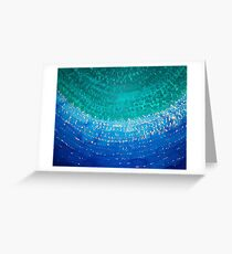 Ride the Wave original painting Greeting Card
